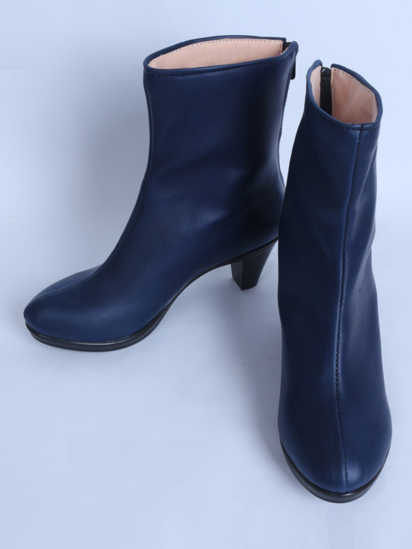 X-Men: Apocalypse Psylocke Girls Navy Blue Cosplay Boots