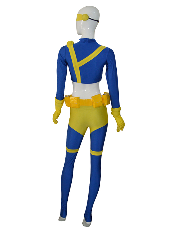 X-men Cyclops Female Version Superhero Costume
