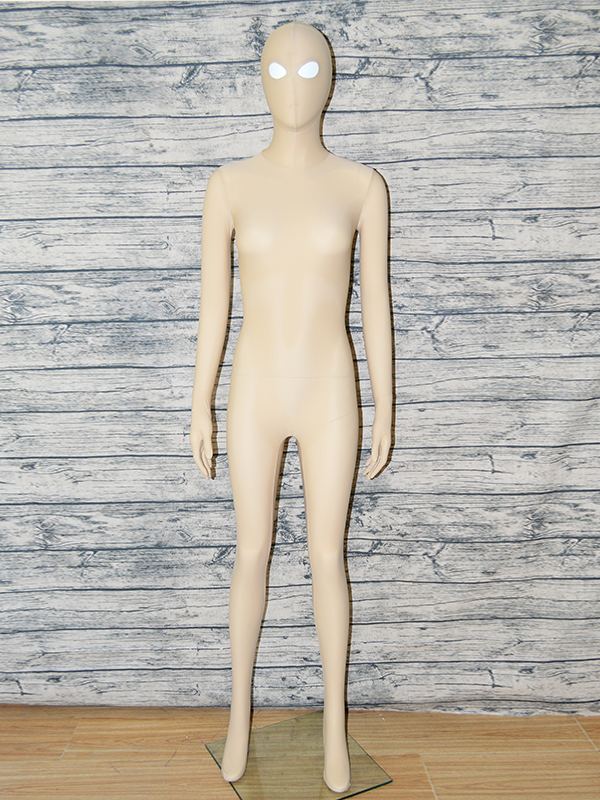 Zentaifan Fleshcolor Full Body Zentai suit Open Eyes